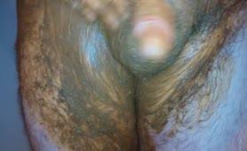 Scat dick rub