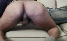 Masturbating before pooping