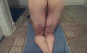 Huge turds from tight ass