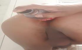 Fingering tight ass