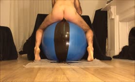 Pooping a lot on a gym ball